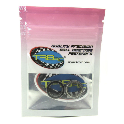 TRB RC 12x18x4mm Precision Ceramic Ball Bearings Hybrid Seals (2)