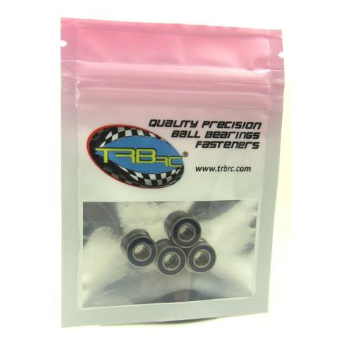 TRB RC 5x11x4mm Precision Ball Bearings ABEC 3 Rubber Sealed BLU (4)