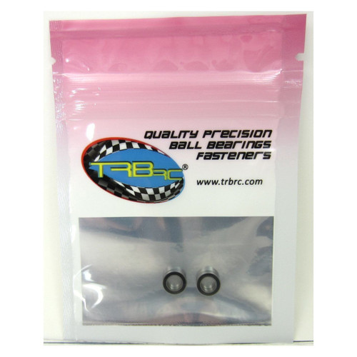 TRB RC 3/16x5/16x1/8 Precision Ball Bearings ABEC 3 Rubber Sealed (2)