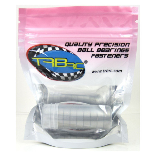TRB RC 6x19x6mm Precision Ball Bearings ABEC 3 Rubber Seals (10)