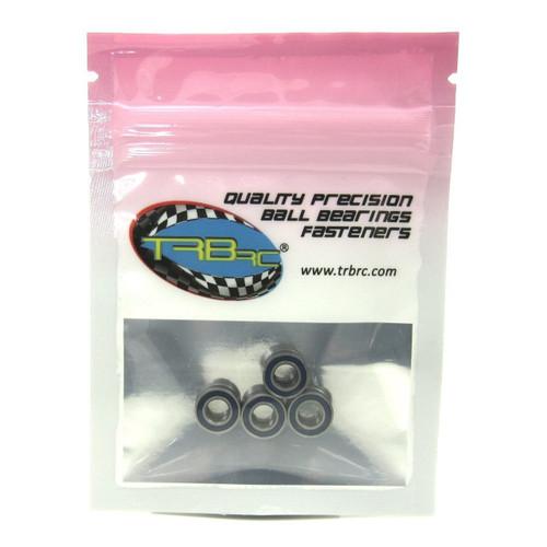 TRB RC 5x10x4mm Precision Ball Bearings ABEC 3 Rubber Sealed BLU (4)