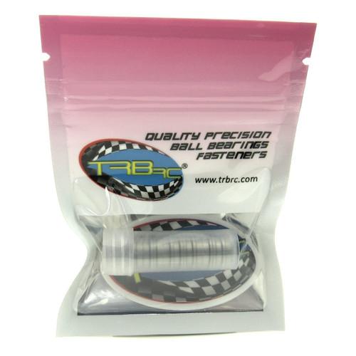 TRB RC 1/4x3/8x1/8 Flanged Precision Ball Bearings ABEC 5 Hybrid Seals (10)