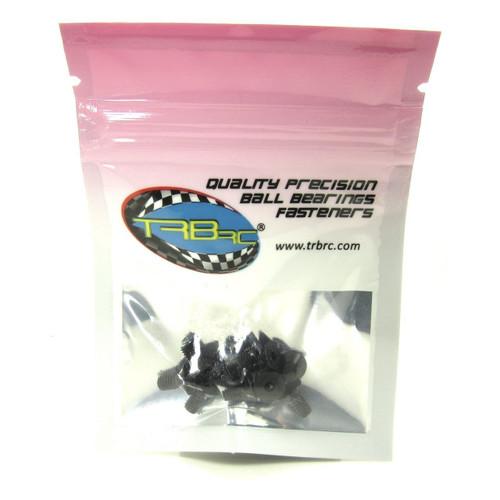 TRB RC 4 x 8mm Flat Head Socket Cap Screw 12.9 Hard Alloy Steel (10)