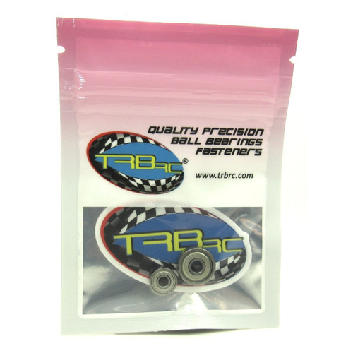 TRB RC 1/8x3/8x5/32 4x13x5mm Ceramic Ball Motor Bearings Tekin