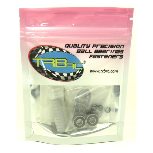 TRB RC Precision Ball Bearing Kit (18) Rubber Sealed Associated SC10.2 FT