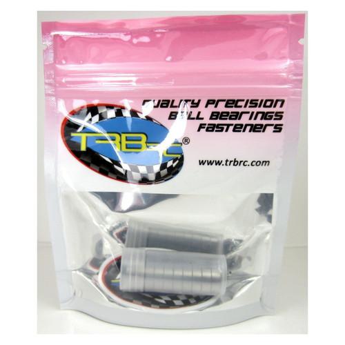 TRB RC 6x12x4mm Precision Ball Bearings ABEC 5 Hybrid Seals Blue (10)