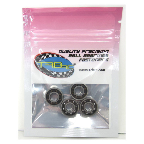 6x15x5mm 696  Open A5 Precision Ball Bearings (4) by TRB RC
