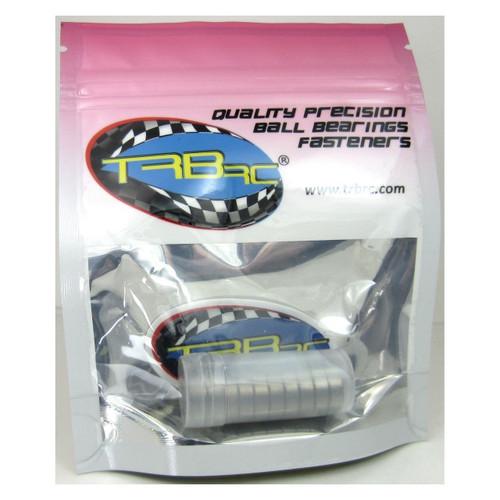 TRB RC 6x12x4mm Precision Ball Bearings ABEC 3 Rubber Sealed BLU (10)