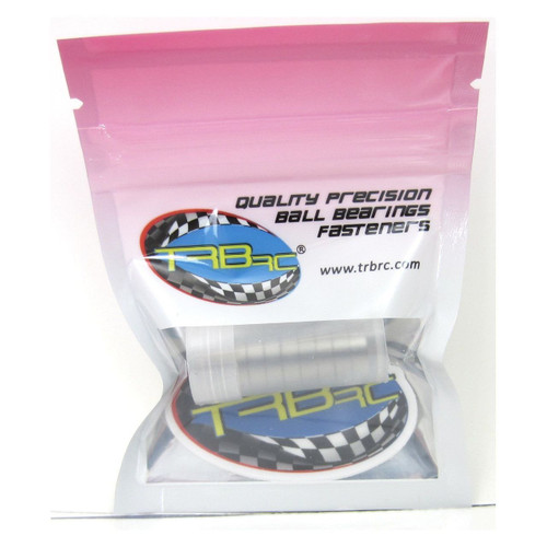 TRB RC 8x12x3.5mm Precision Ball Bearings ABEC 3 Rubber Sealed (10)