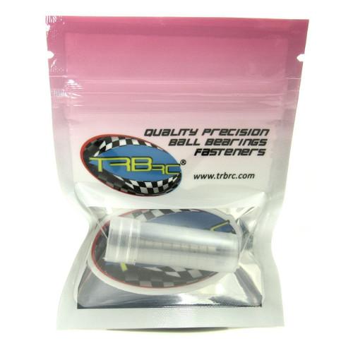 TRB RC 4x8x3mm Precision Ball Bearings ABEC 3 Hybrid Seals RED (10)