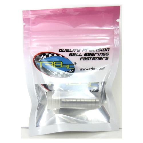 TRB RC 6x10x3mm Precision Ball Bearings ABEC 3 Rubber Sealed BLU (10)