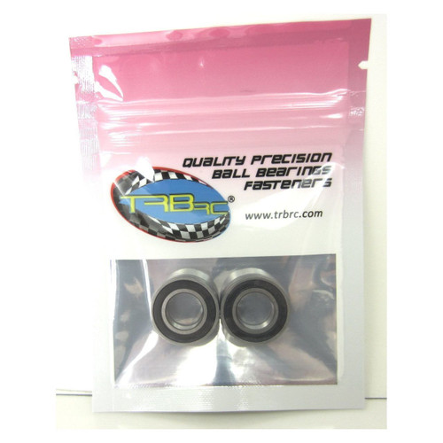 TRB RC 10x19x5mm Precision Ball Bearings ABEC 3 Rubber Sealed (2)