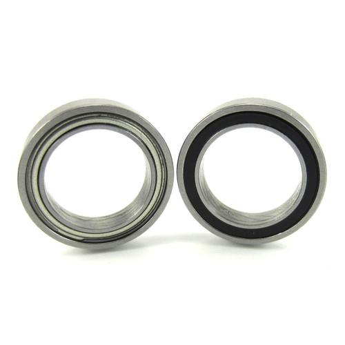 2 12x18x4mm Precision Ceramic Ball Bearings Hybrid Seals