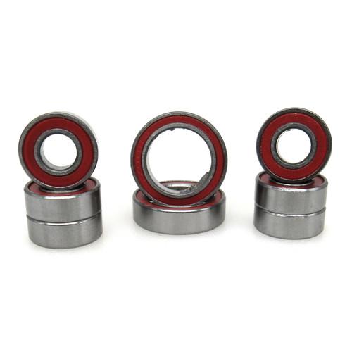 TRB RC Ceramic Wheel Hub Bearing Kit Red Traxxas 4x4 Slash Rustler