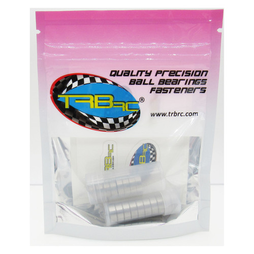 TRB RC Precision Ball Bearing Kit (18) Rubber Seals BU Tamiya TT-01