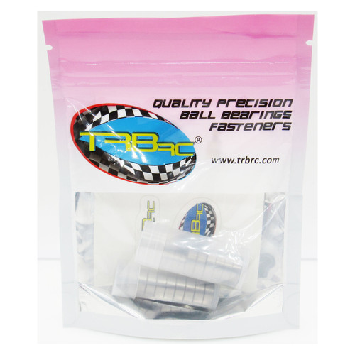 TRB RC Ball Bearing Kit (20) Tamiya TT-01E Team Hahn Racing MAN TGS