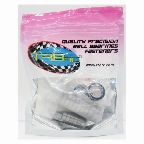 TRB RC Precision Ball Bearing Kit BLU (21) Rubber Sealed Traxxas Hoss VXL