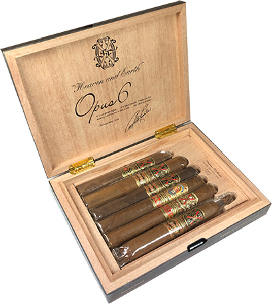 Opus 6 Macassar Travel Humidor May 2018  mardocigars.com