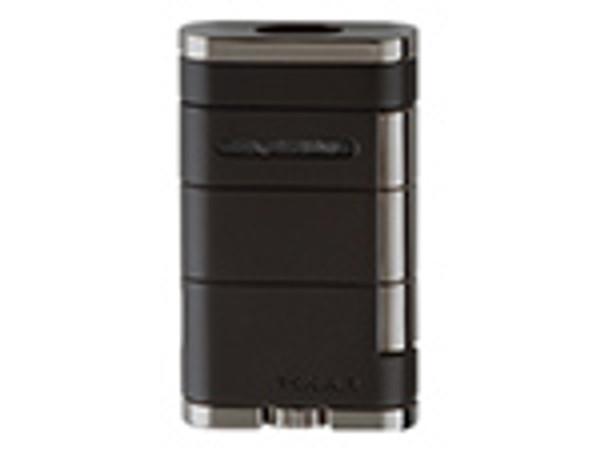 XIKAR Allume Double Lighter Tuxedo Black mardocigars.com