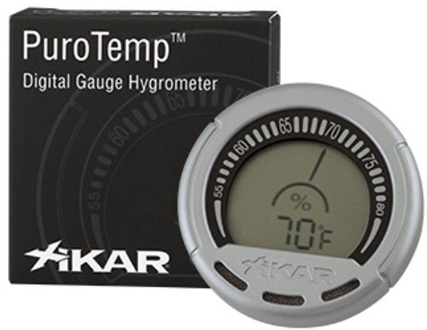 XIKAR Digital Gauge Hygrometer mardocigars.com