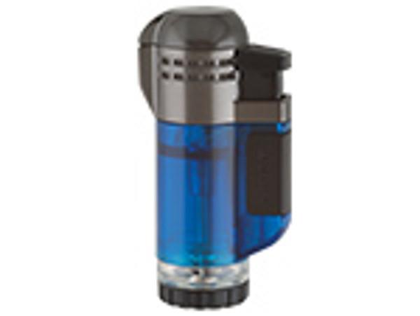 XIKAR Double Tech Lighter Blue  mardocigars.com