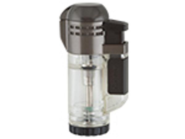 XIKAR Double Tech Lighter Clear mardocigars.com