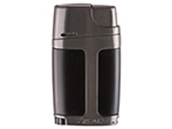 XIKAR ELX Double Jet Flame Lighter Charcoal mardocigars.com