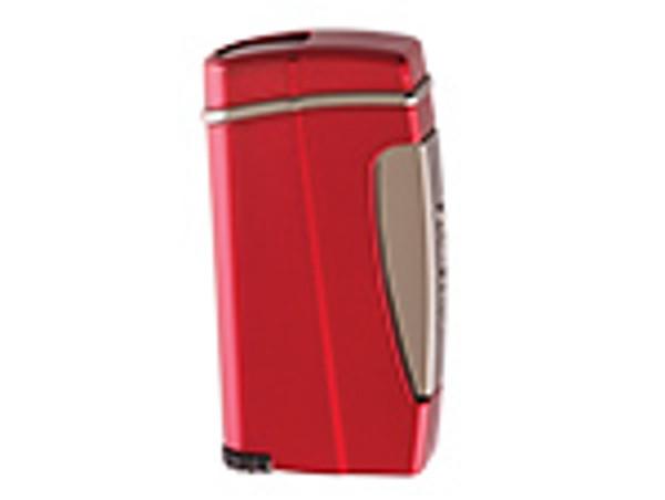 XIKAR Executive II Single Jet Flame Lighter Red  mardocigars.com