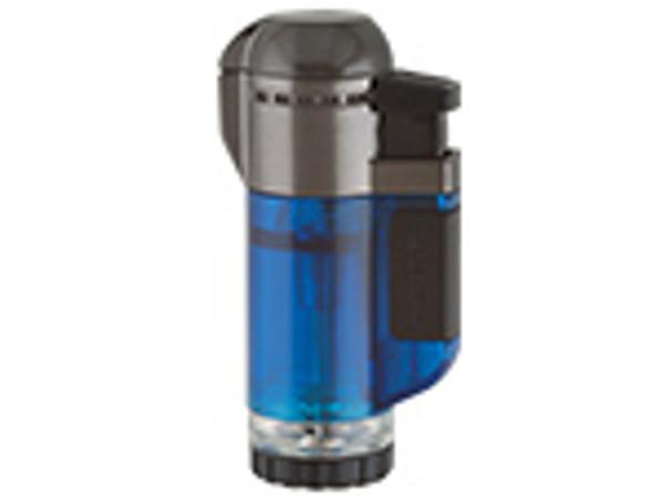 XIKAR Single Tech Lighter Blue mardocigars.com