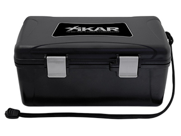 Selecting the right XIKAR travel humidor for your cigars is very important. XIKAR makes six (6) different sizes of travel humidors for the right occasion. The travel humidor case size, number of cigars and temperature will determine how you maintain the Relative Humidity (RH).  Maintaining proper humidity in your travel humidor is easy! 5, 10,15ct humidors come standard with 8g 2-Way Humidity Control packet. Simply discard and replace when the pack becomes rigid. In the larger 18-24ct, 30-50 & 50-80ct humidors, simply add XIKAR PG Solution to the included magnetic 50ct crystal humidifier to fully charge the humidification unit. For different temperatures and extended storage, it may be advisable to recharge the humidification unit as needed, but this will depend on number of cigars, freshness of cigars, humidity and temperature. The inner foam keeps your cigars nestled properly inside the case at all times.  Remember to close your travel humidor so that it remains airtight when not in use. Keeping the humidor airtight will help maintain the humidity and preserve your cigars longer.  Features: Airtight... Watertight... Crushproof Super-strong ABS Molded Plastic Construction Closed cell foam is Airtight and Watertight Stainless Steel Hinge and Latch Hinges Locking Clasp Molded Lock Ring for Added Security High Density Urethane Foam Supports and Protects Your Cigars 5,10,15ct Travel Humidors feature egg-crate style foam for better functionality and reduced cigar movement 5,10,15ct Travel Humidors include 8g 2-Way Humidity Control Packet 18-24ct, 30-50 & 50-80ct include 50ct Crystal Humidifier ($14.99 Value) with magnet attachment Manufacturer's Lifetime Guarantee Locking Clasp Made in the USA