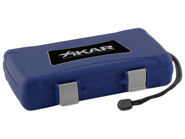 XIKAR Travel Humidors Blue 5 Count MardoCigars.com
