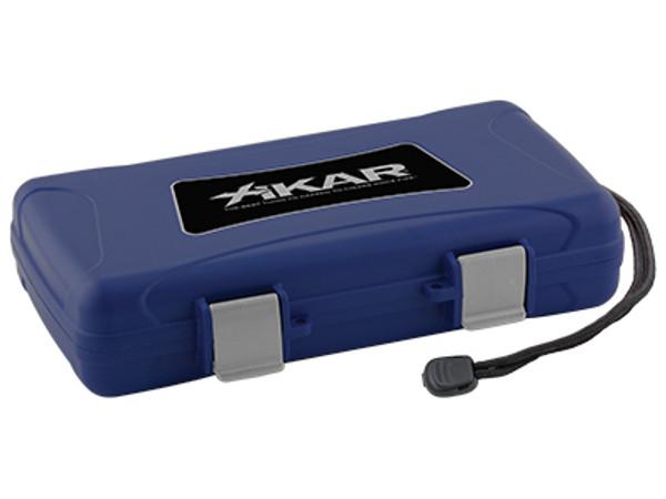 XIKAR Travel Humidors Blue 5 Count MardoCigars.com
