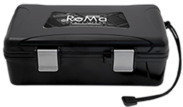 XIKAR Travel Humidors: RoMa Craft Black - 10 Count mardocigars.com