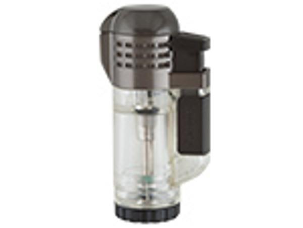 XIKAR Triple Tech Lighter Clear mardocigars.com