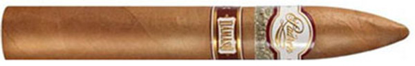 Padron Damaso is a real departure for the Padron family, as this is their first Connecticut Shade wrapped cigar, and it is also a round shape, contrary to their usual box-pressed cigars. The cigar is mild to medium and includes Nicaraguan fillers in the blend. The cigar is named after Damaso Padron, grandfather of the company's founder, Jose O. Padron. This smooth and creamy cigar from Padron offers notes of caramel, hay and hazelnuts.
