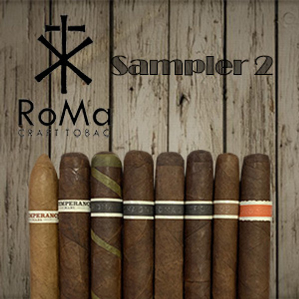 RoMa Craft Sampler 2 mardocigars.com