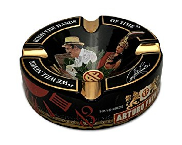 Arturo Fuente Hands of Time Ashtray - Black mardocigars.com