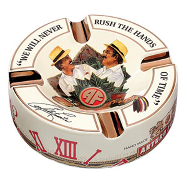 Arturo Fuente Hands of Time Ashtray - White  mardocigars.com