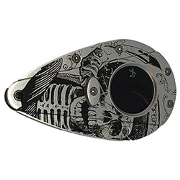 Xikar Xi1 Day of the Dead Silver Skull mardocigars.com