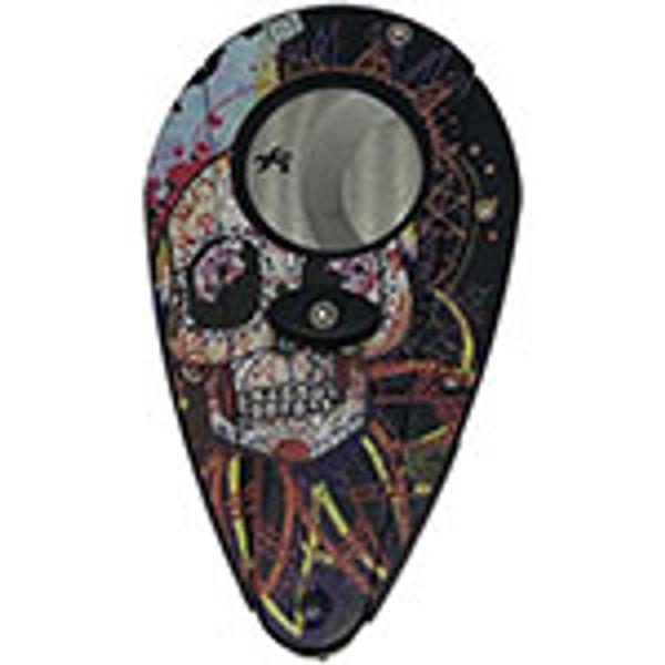 Xikar Xi1 Day of the Dead Inverted Black Skull mardocigars.com