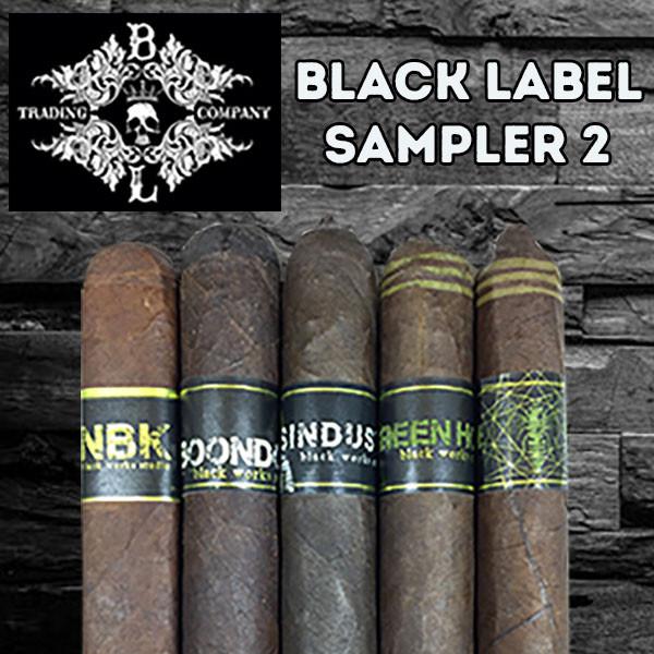 Black Label Trading Sampler 2  mardocigars.com