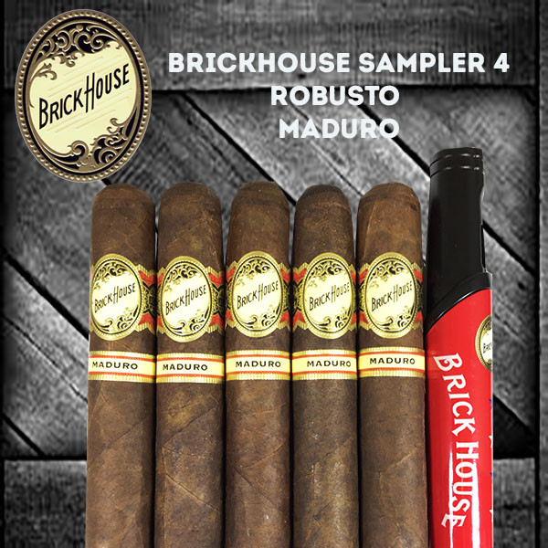 Brick House Sampler 4 MardoCigars.com