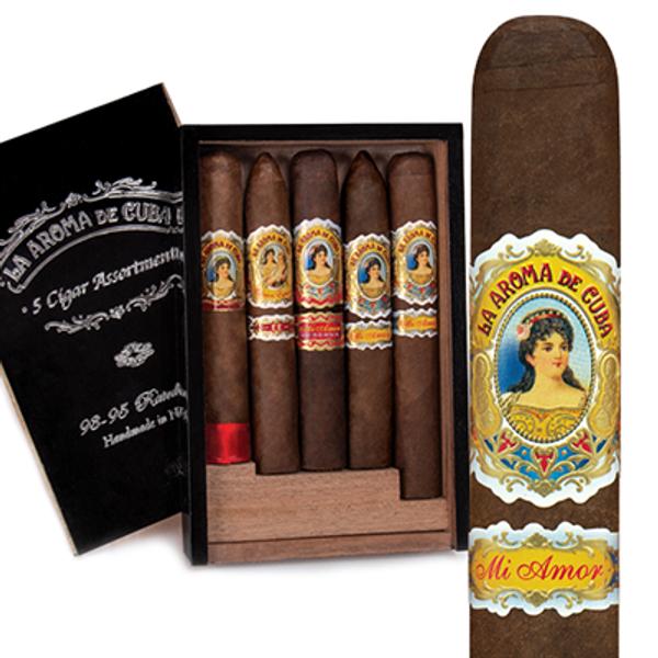 La Aroma de Cuba 93-95 Rated-5 Cigar Assortment MardoCigars.com