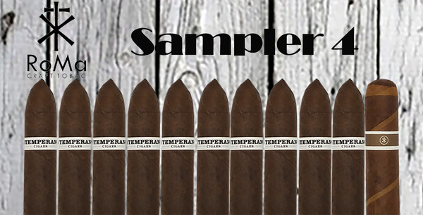 RoMa Craft Intemperance Sampler 4 (includes Sabre Tooth FREE)