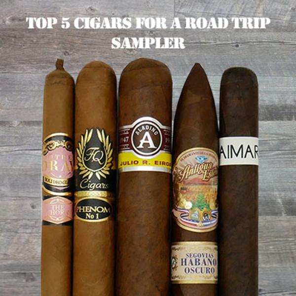 """Top 5 Cigars ""For a Road Trip""  MardoCigars.com"