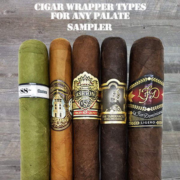 Cigar Wrapper Types for Any Palate Sampler MardoCigars.com