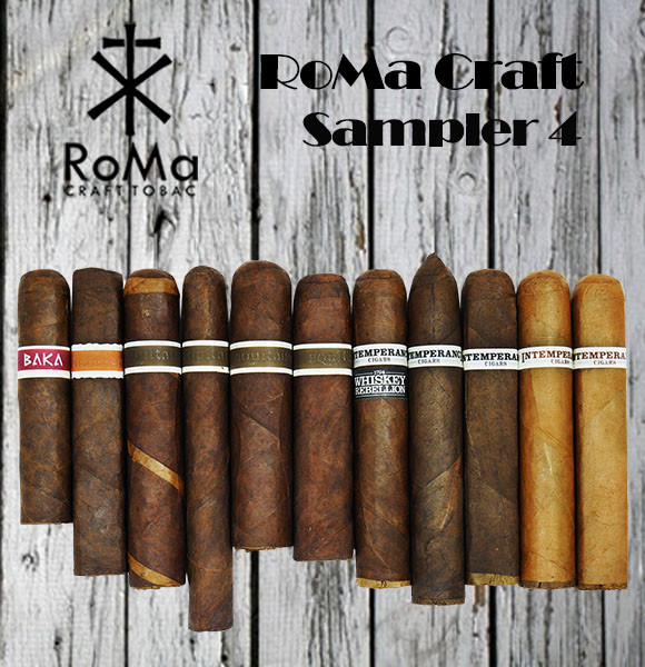 RoMa Craft Sampler 4 MardoCigars.com