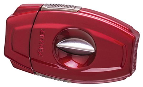 XIKAR VX2 V-Cut Cigar Cutter Red mardocigars.com