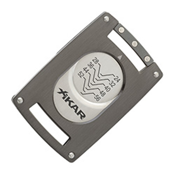Xikar Ultra Slim Cutter Gunmetal mardocigars.com