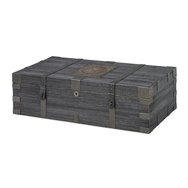 Cult Desktop Humidor Weathered Aged Wood mardocigars.com